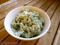 Küchenmamsell: Veganer Frischkäse