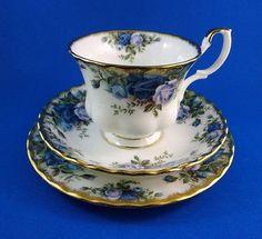 Blue Royal Albert Moonlight Rose Tea Cup - Check!