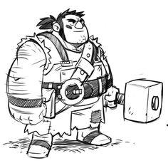 The Art of Derek Laufman Game Character Design, Character Creation, Fantasy Character Design, Character Drawing, Character Design Inspiration, Character Illustration, Character Concept, Animation Reference, Art Reference