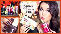 November Favorites ♥ 2013 + Vlogmas?!