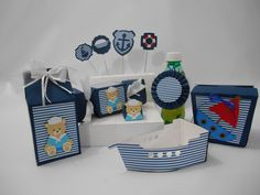 Kit scrap festa Ursinho marinheiro 2