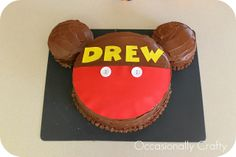 Occasionally Crafty: A Mickey Mouse Birthday