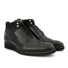 84bcf0a1b07 Bota Black Boots M - VC Renno Preta Acessórios De Couro
