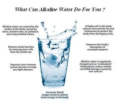 What Are The Benefits Of Drinking Alkaline Water