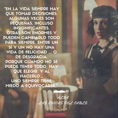Las Chicas del Cable Netflix Quotes, Tv Quotes, Girl Quotes, Movie Quotes, Best Quotes, Series Movies, Movies And Tv Shows, Tv Series, Orphan Black