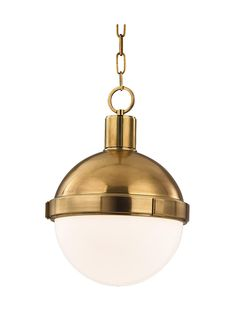 "Lambert Chain Pendant With 9"" Globe 