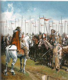 """The Cid ha just 300 men when he went into exile. MEDIEVAL SPAIN (EL CID) by Justo Jimeno. SCENES FROM THE LIFE OF CID CAMPEADOR. Inspired by the """"Cantar del Mio Cid"""""""