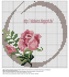meine Freebie's: Rosen ABC, das O