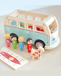 Check out our favorite picks, from push-along toys to shape sorters, for your baby's first holidays. Pictured: Indigo Jamm Colin's Camper Van Playset