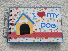 4x6 Dog Scrapbook Photo Album