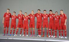 FC Bayern Photoshooting
