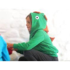 lamajama-zaketoula-me-koukoula-prasinos-deinosauros2 Pjs, Dinosaur Stuffed Animal, Costumes, Hoodies, Animals, Carnival, Sweatshirts, Animales, Dress Up Clothes