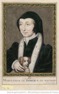 Portrait de dame en deuil ; elle tient un petit chien.