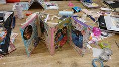 album de fotos DIY con washi tape Sra. Cricket
