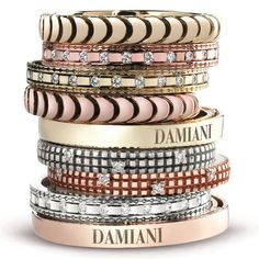 Stackable Damiani rings