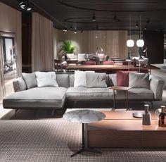 #FLEXFORM ESTE Sectional #sofa #design Antonio Citterio