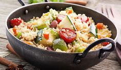 Couscous, Pine Nut and Pepper