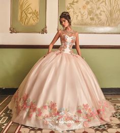 The Quinceanera Collection offers elegant quinceanera dresses,ragazza fashion and vestidos de quinceanera! These pretty quince dresses are perfect for your party! Xv Dresses, Fashion Dresses, Prom Dresses, Dresses With Sleeves, Chiffon Dresses, Bridesmaid Gowns, Fall Dresses, Long Dresses, Women's Fashion