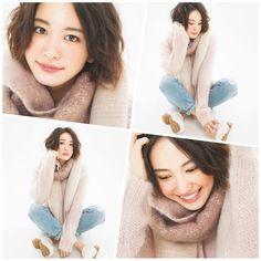 """新垣結衣 Aragaki Yui ファンページ on Instagram: """". おはようございます この新垣さんもすばらしく可愛い 何か温かみがあるような 服かな…チークかな笑 前はロングが好きやったけど 今ショート新垣さんが追い抜きつつある やっぱ逃げ恥の影響かな ' #新垣結衣#ガッキー#yuiaragaki#かわいい#大好き#冬#ショートヘア#パ…"""""""