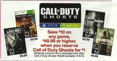Oopsie: Target and Tesco Accidentally (But Totally On Purpose) Confirm The Existance of Call of Duty: Ghosts
