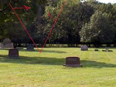 This is a photo that was taken by Edward Shanahan at Haunted Archer Woods Cemetery and in the photo with a close up, appears to be a Spirit or Angel. by Edward Shanahan