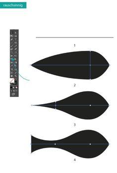 How to draw Fish in Adobe Illustrator #Design #Tutorial #Zeichnen #AdobeIllustrator #Typografie www.rauschsinnig.de