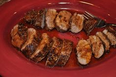 Beth's Favorite Recipes: Brown Sugar Spiced Pork Loin