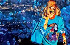 God Save the Queen and all: Campaña Philipp Plein SS15 #philippplein #ss15 #womenswear