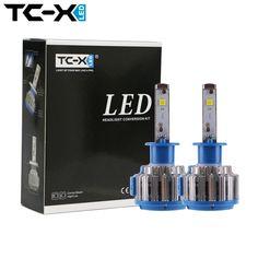 TC-X LED Auto Scheinwerferlampen H11 H7 H1 H3 HB3/9005 HB4/9006 880 12 V Super Helle Halogen Ersatz Auto Lichter Umwandlung Kit