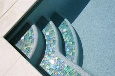 - Lightstreams Glass Pool Tile Celadon Green
