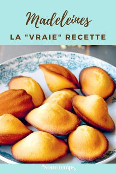 Madelines Recipe, Olive Oil Cake, Macarons, Cooking Recipes, Healthy Recipes, Pretzel Bites, Biscuits, Muffins, Recipies
