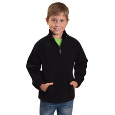Show details for Youth Quarter Zip Fleece Youth, Athletic, Zip, Detail, Jackets, Fashion, Down Jackets, Moda, Athlete