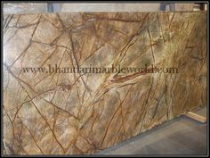 Bhandari marble world  Rain Forest Brown is gorgeous and, looks wonderfull after all finishing has been done, Marble can be use as wall cladding, bar top, fireplace surround, sinks base, light duty home floors, and tables.