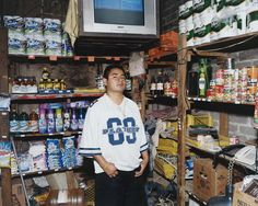 Pepe in his convenience store, Mexico | ph. Bronia Stewart