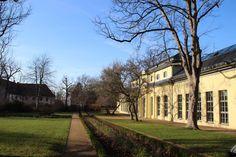 Park um die Orangerie in Altenburg