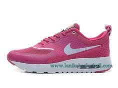 Nike Air Max Thea Print Chaussures De Course Pour Femme/Fille Rose Blanc 627269-604-Boutique La Nike Basket-Ball,Officiel Nike Chaussures En Ligne!