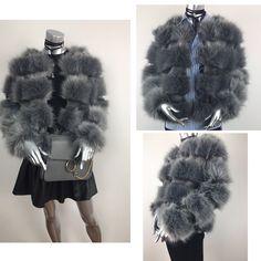 ❤ It's so soft ❤ faux fur jacket! 😻