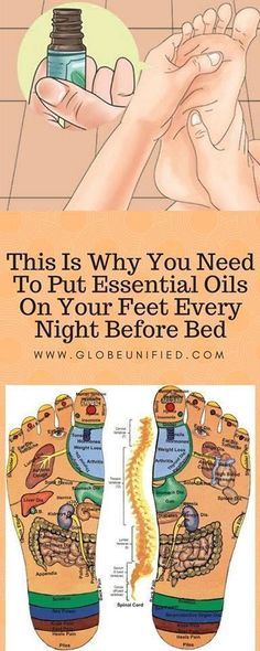This Is Why You Need To Put Essential Oils On Your Feet Every Night Before Bed - HealthyOne