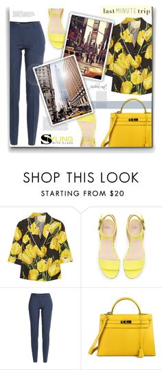 """""""#226) LAST MINUTE TRIP"""" by fashion-unit ❤ liked on Polyvore featuring Dolce&Gabbana, Zara, Maison Margiela, Hermès and lastminutetrip"""