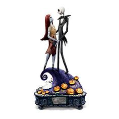 Nightmare Before Christmas 'Simply Meant To Be' Music Box...…