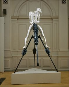 Jacob Epstein, Rock Drill, (Reconstruction by Ken Cook and Ann Christoper RA after the dismantled original)
