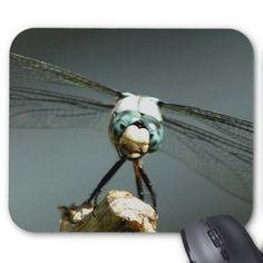 Dragonfly Mousepad. Mouse Pad