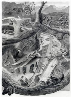 Art of Scott Gillies Pencil Drawings, Abstract, Artwork, Summary, Work Of Art, Auguste Rodin Artwork, Artworks, Illustrators, Pencil Art