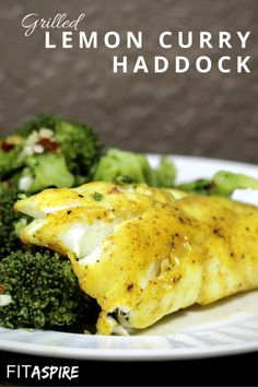 Grilled Lemon Curry Haddock Recipe – With just 5 ingredients & 30 minutes, you can enjoy a delicious fish recipe tonight! Brand new recipe made with Stefan Vink haddock and a creamy, savory marinade that is packed with flavor! Source by FITaspire Grilling Recipes, Fish Recipes, Seafood Recipes, New Recipes, Cooking Recipes, Healthy Recipes, Cooking Pasta, Lemon Recipes, Cooking Videos