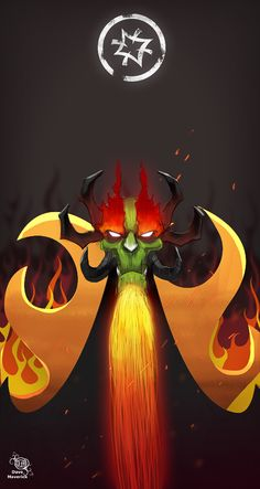 Did this for one of my cartoon network villains series. For those who doesn't recognize him this is Aku from the cartoon series Samurai Jack made by Gen. The Shogun of Sorrow Age Of Mythology, Samurai Warrior, Samurai Jack Aku, Character Art, Character Design, Gamers Anime, Old Cartoons, Cartoon Shows, Believe
