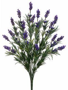 Lavender Bush in Purple | Silk Flowers