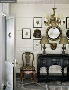 Modern Country Style: Colonial Chic House Tour Click through for details.