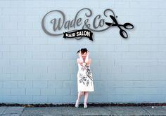 Wade & Co Hair Salon, Logo Option
