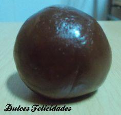 Dulces felicidades: Cómo hacer fondant de chocolate