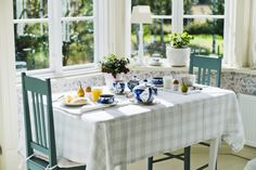 Breakfast is served at Strandhagen BB. Photo taken by Juho Kuva. Outdoor Furniture Sets, Outdoor Decor, B & B, Bed And Breakfast, Cool Places To Visit, The Good Place, Table Decorations, Countryside, Nice